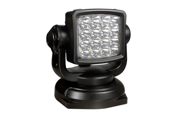 LIGHTPARTZ LED Suchscheinwerfer Fernbedienung 10° 800m schwarz