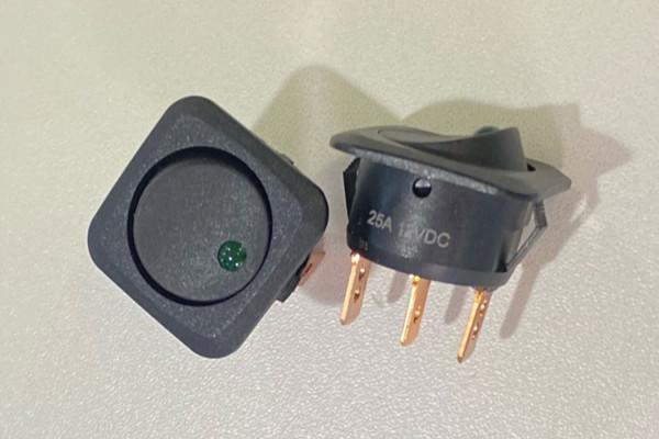 Wippschalter für Zusatzbeleuchtung 12V