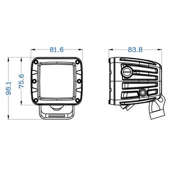 Infrarot-Jagd-Arbeitsscheinwerfer-2-Spot_dimensions