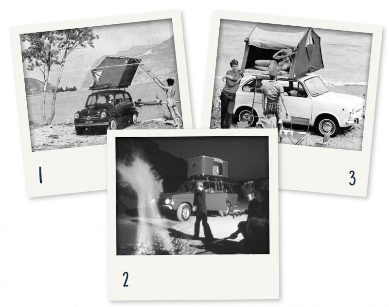 Geschichte der Dachzelte